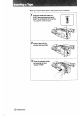 Page 10 Preview of Sony Handycam CCD-F401 Operating instructions manual