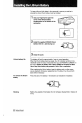 Page #8 of Sony Handycam CCD-F401 Manual
