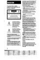 Page 2 Preview of Sony Handycam CCD-FX425 Operation manual