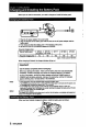 Sony Handycam CCD-FX425 Manual, Page #6