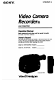Page #1 of Sony Handycam CCD-TR28 Manual