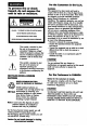 Page 2 Preview of Sony Handycam CCD-TR28 Operation manual