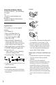 Sony HANDYCAM CX550V Camcorder, Page 8