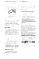 Sony Handycam DCR-DVD608 Camcorder Manual, Page 8