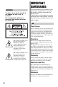 Sony Handycam HDRSR11 Camcorder Manual, Page 2