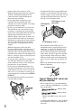 Page 6 Preview of Sony Handycam HDRSR11 Operating manual