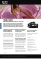 Page #1 of Sony HDR-PJ30V Manual