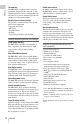 Page 10 Preview of Sony PMW-EX1 Operating instructions manual