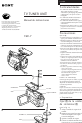 Preview Page 2 | Sony TGV-7 Camcorder Manual