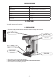 Mach 688.080 Coffee Maker Manual, Page 8