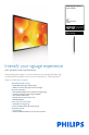 Philips Signage Solutions BDL3220QL | Page 1 Preview