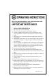 Kalorik USK FGH 30035 | Page 2 Preview