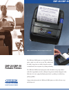 Citizen THERMAL CMP-20 Brochure & specs
