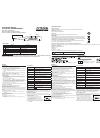 Citizen REF CTA 301 Instruction Manual 1 pages