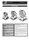 Clay Paky A.LEDA WASH K5l Instruction Manual 36 pages