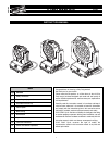 Clay Paky A.LEDA WASH K5 Instruction Manual 32 pages