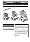 Clay Paky C61401 Instruction Manual 28 pages