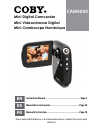 Coby CAM4000 - SNAPP Camcorder - 3.0 MP