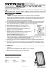 Sealey ML72F Instructions For 2 pages