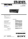 Samsung STR-DE1075 Service Manual 82 pages