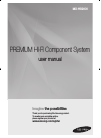 Samsung MXHS9000 Operation & User's Manual 60 pages