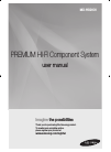 Samsung MXHS9000 Operation & User's Manual 84 pages