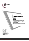 LG M197WD Owner's manual