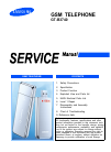 Samsung GT-B3740 Service Manual 51 pages