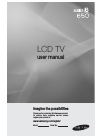 Samsung 650 Series Operation & User's Manual 120 pages