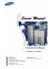 Samsung CLX-FIN40S Service Manual 148 pages