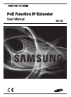 Samsung SPO-100 Operation & User's Manual 15 pages