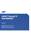 Samsung RM40D Operation & User's Manual 139 pages