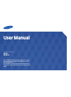 Samsung DB10E-T Operation & User's Manual 167 pages