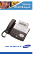 Samsung OFFICESERV ITP-5021D Quick Reference Manual 8 pages