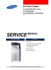 Samsung CLX-9201NA Service Manual 476 pages