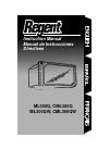 Regent ML300Q Instruction Manual 16 pages