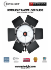 Rotorlight ANOVA BI-COLOUR V2 - SOLO 5600K Operation & User's Manual 16 pages