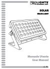 ProLights Solar Operation & User's Manual 36 pages