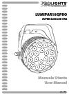 ProLights LUMIAPAR18QPRO Operation & User's Manual 40 pages