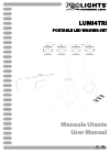 ProLights LUMI4TRI Operation & User's Manual 36 pages