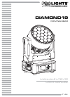 ProLights Diamond19 Operation & User's Manual 68 pages