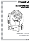 ProLights Cromowash100 Operation & User's Manual 52 pages