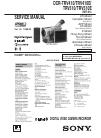 Sony Digital8 DCR-TRV410