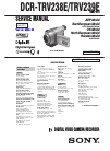 Sony Handycam Digital8 DCR-TRV238E