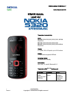 Nokia 5320 Xpress Music Instruction Manual 21 pages