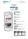 Nokia RM-506 Service Manual 20 pages