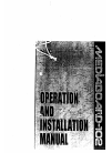 NEC Mediaboard-102 Operation And Installation Manual 24 pages