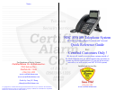 NEC SV-8100 Quick Reference Manual 8 pages