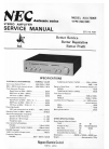 NEC AUA-7300E Service Manual 22 pages