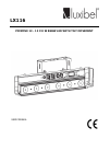 Luxibel LX116 Operation & User's Manual 11 pages